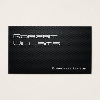 Modern Professional Carbon Fiber Business Cards