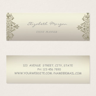 Modern Professional Charming  Luminous,Lace Mini Business Card