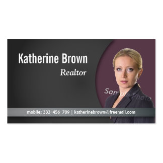 Modern, Professional, Chic, Real Estate, Photo Pack Of Standard Business Cards