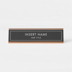 ac04e05e0f64 Modern Professional Desk Name Plate