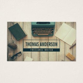 Modern Professional Freelance Writer Typewriter