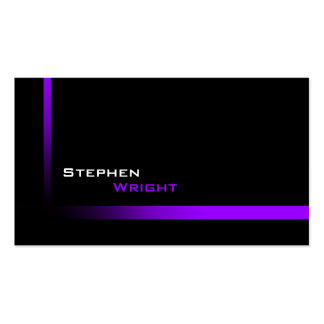 Modern Professional Graduated Stripe Pack Of Standard Business Cards