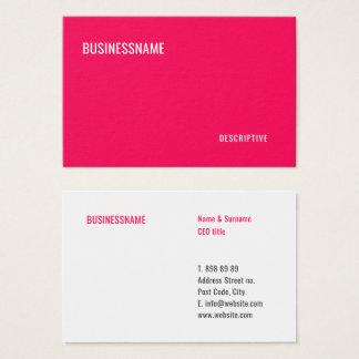 Modern Professional Minimalist Card Template -