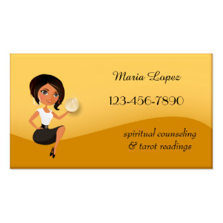 Modern Psychic or Clairvoyant Business Card