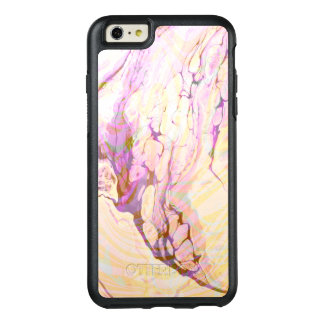 Modern Purple And Yellow Marble OtterBox iPhone 6/6s Plus Case
