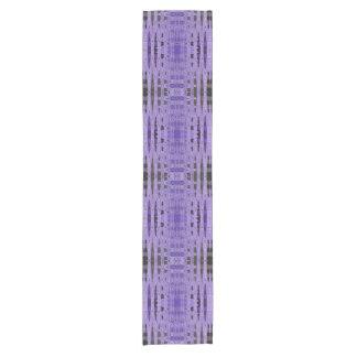 Modern Purple Black design Short Table Runner