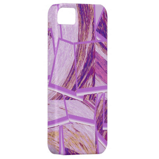 Modern purple cubism background iPhone 5 covers