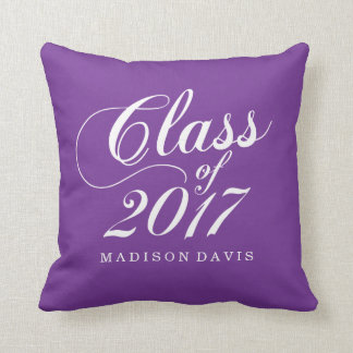 Modern Purple | Graduation Cushion