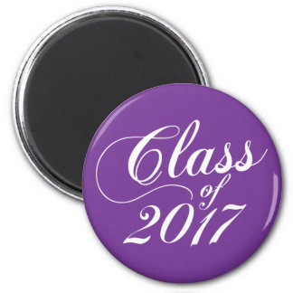 Modern Purple | Graduation Magnet