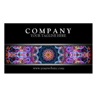 Modern Purple Lotus Pack Of Standard Business Cards