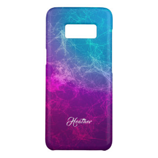 Modern Purple To Blue Ombre Polygonal Background Case-Mate Samsung Galaxy S8 Case