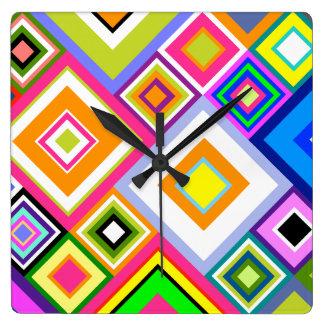 Modern Quilt Clock