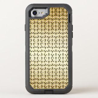 Modern Rattlesnake Snakeskin Tan Vegan Reptile OtterBox Defender iPhone 8/7 Case