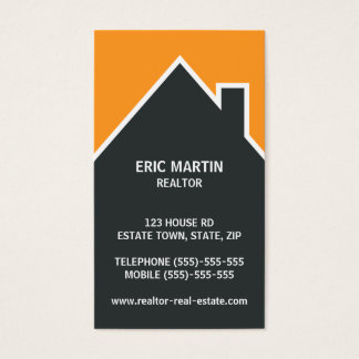 Modern real estate agent, architect or realtor