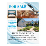 Modern Real Estate Realtor For Sale Flyer