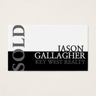 Modern Realty Real Estate Realtor Business Card