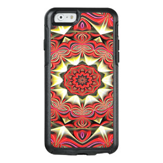 Modern Red Abstract Pattern OtterBox iPhone 6/6s Case