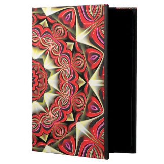 Modern Red Abstract Pattern Powis iPad Air 2 Case