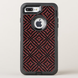 Modern Red Glitter OtterBox iPhone 8 /7 Plus  Case
