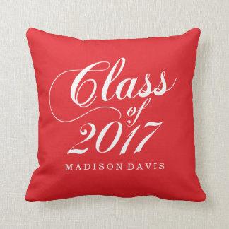 Modern Red | Graduation Cushion