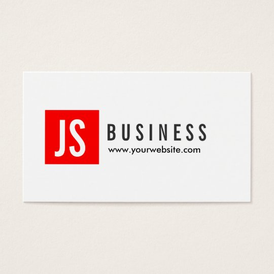 Modern Red Logo Civil Engineer Business Card