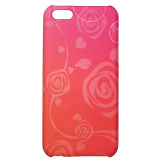 Modern Red Roses iPhone 5C Case