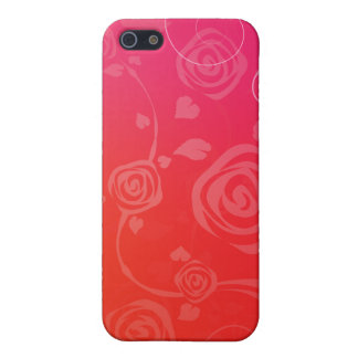 Modern Red Roses Covers For iPhone 5