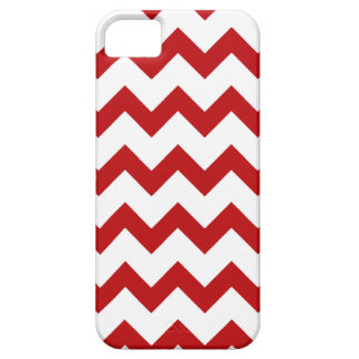 Modern Red White Chevron Pattern iPhone 5 5S Case iPhone 5 Covers