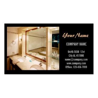 Modern Renovation Handyman Carpentry Construction Pack Of Standard Business Cards