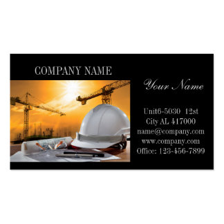 Modern Renovation Handyman Carpentry Construction Pack Of Standard Business Cards