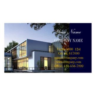 Modern Renovation Handyman Construction architect Pack Of Standard Business Cards