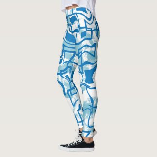 Modern Retro Square Leggings