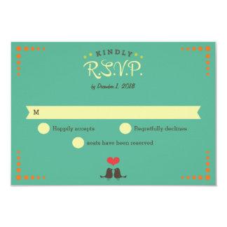 Modern Retro Vinyl Record Wedding 9 Cm X 13 Cm Invitation Card