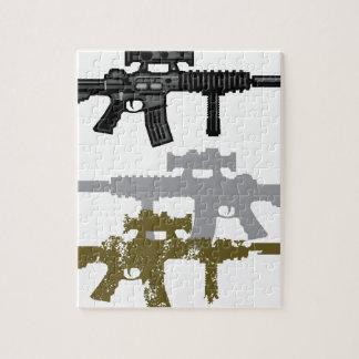 Modern Rifle Jigsaw Puzzle
