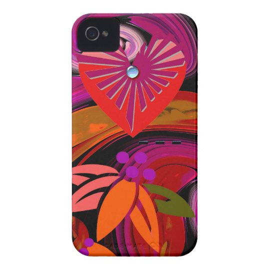 Modern Romantic iPhone 4 Case-Mate case