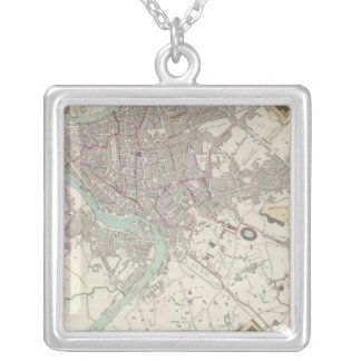 Modern Rome Silver Plated Necklace