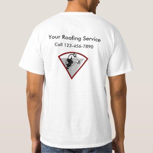 Modern Roofing Service T-Shirt