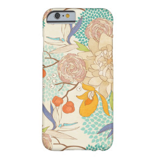 Modern Rose Peony Flower Pattern iPhone 6 Case