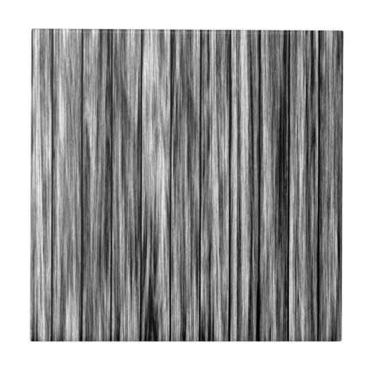 Modern rustic black grey wood grain pattern small square tile