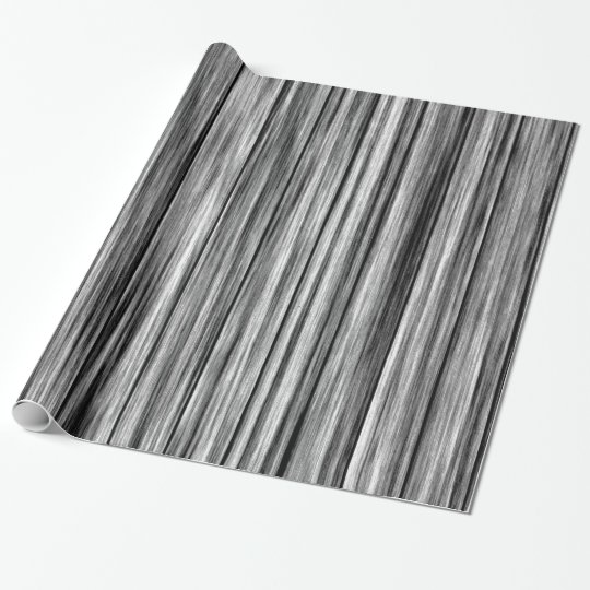 Modern rustic black grey wood grain pattern wrapping
