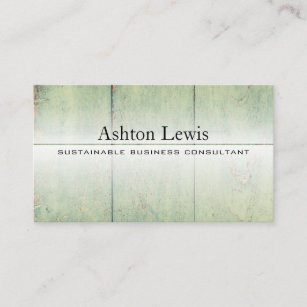 Sustainable business cards zazzle uk modern rustic reclaimed vintage barnwood business card colourmoves