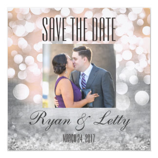 Modern Save the Date Photo Cards