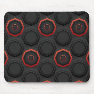 Modern SciFi Pattern Mouse Pad