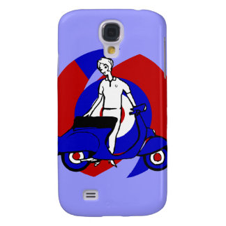 Modern Scooter Girl Retro Scooter iphone 3 case