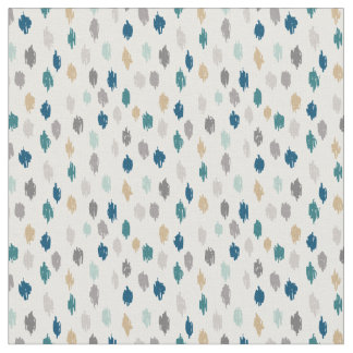 Modern Scribbles Patterned Fabric (Blue Gray)