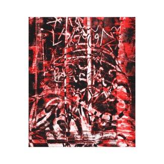 Modern Scripture Canvas Print