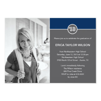 Modern Senior Graduation Announcement/Invitation Cards