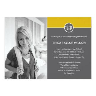 Modern Senior Graduation Announcement/Invitation Custom Invitations