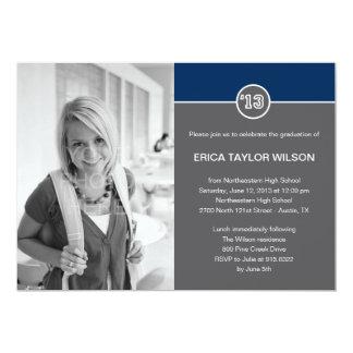Modern Senior Graduation Announcement/Invitation 13 Cm X 18 Cm Invitation Card