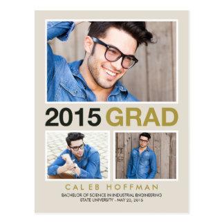 Modern Senior Graduation Announcement /Invitation Postcard